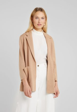 NEW LIGHTWEIGHT  - Strickjacke - heather khaki
