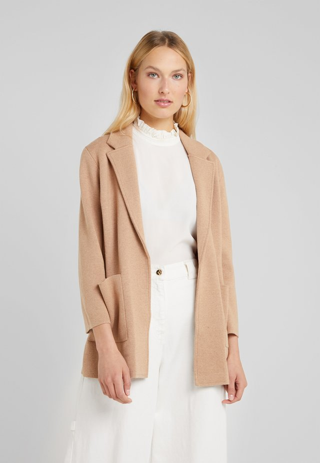 SOPHIE OPEN FRONT - Blazer - heather khaki