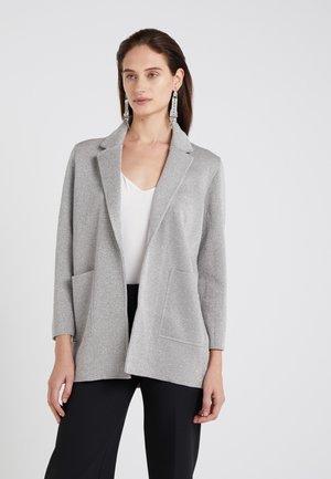 HANNAH - Blazer - silver/heather grey