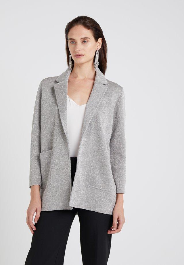 HANNAH - Blazere - silver/heather grey