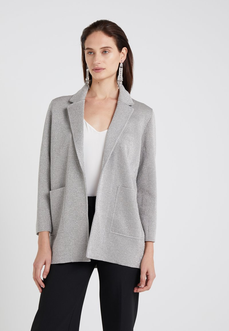 J.CREW - HANNAH - Blazer - silver/heather grey