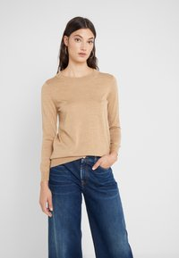 J.CREW - TIPPI CREW - Jumper - heather saddle - 0