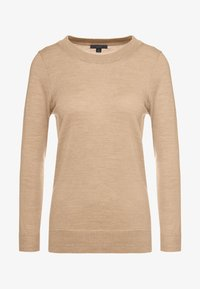 J.CREW - TIPPI CREW - Jumper - heather saddle - 3