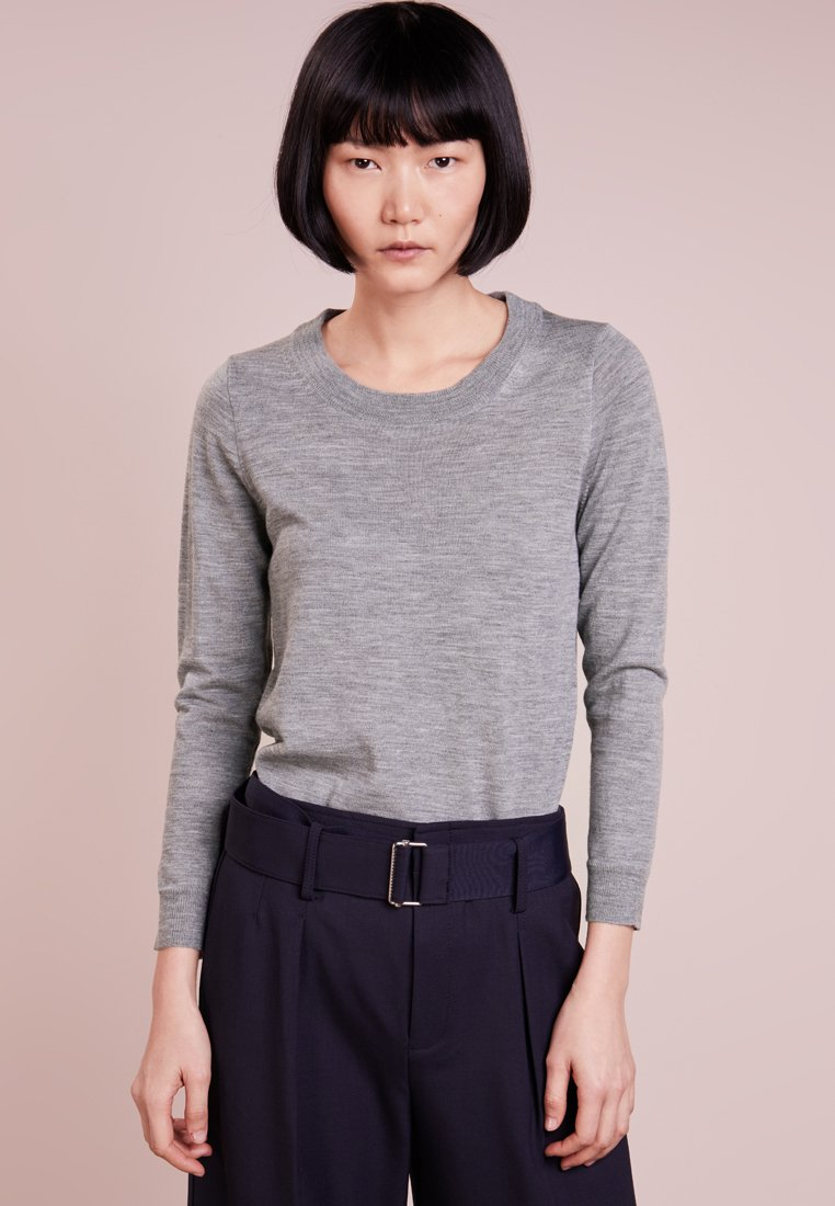 J.CREW - TIPPI CREW - Sweter - heather smoke