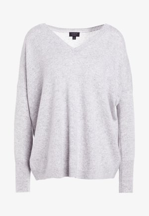 ROSAYLN CASHMERE SWEATER - Sweter - heather dusk