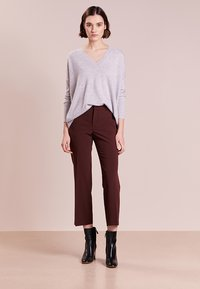 J.CREW - ROSAYLN CASHMERE SWEATER - Neule - heather dusk - 1