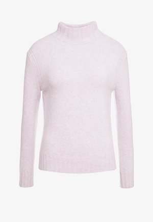 Isabel Mock Neck - Pullover - heather orchid