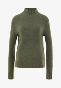 J.CREW - Isabel Mock Neck - Pullover - heather loden green - 3