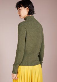 J.CREW - Isabel Mock Neck - Pullover - heather loden green - 2