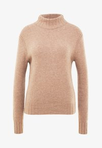 J.CREW - Isabel Mock Neck - Jersey de punto - heather mushroom - 3