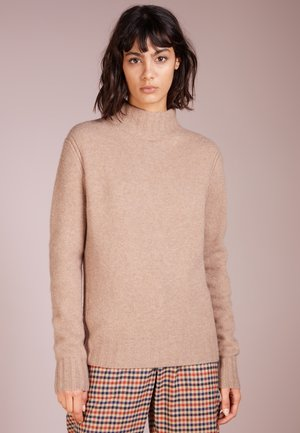 Isabel Mock Neck - Strickpullover - heather mushroom