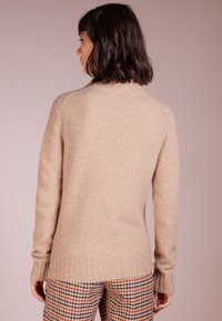 J.CREW - Isabel Mock Neck - Jersey de punto - heather mushroom
