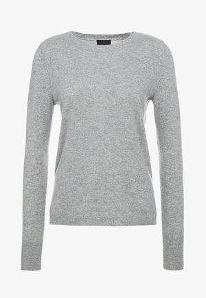 LAYLA CREW - Stickad tröja - heather grey