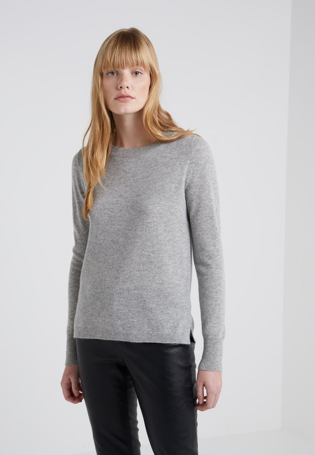 LAYLA CREW - Stickad tröja - heather grey