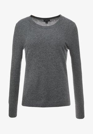 LAYLA CREW - Sweter - heather coal grey
