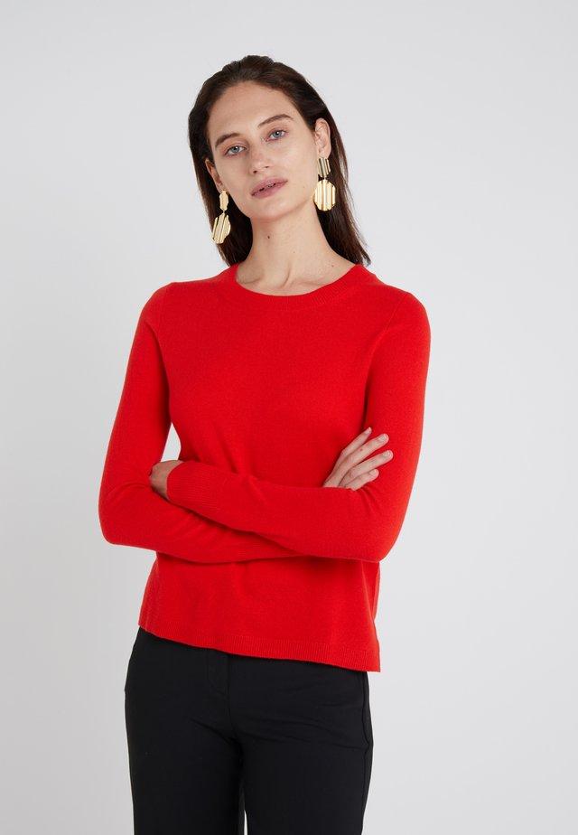 LAYLA CREW - Stickad tröja - bright cerise