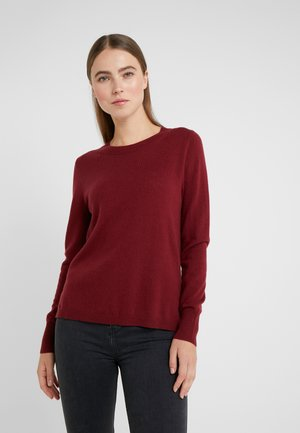LAYLA CREW - Pullover - burgundy