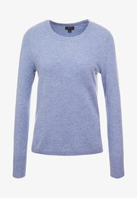 J.CREW - LAYLA CREW - Sweter - heather river