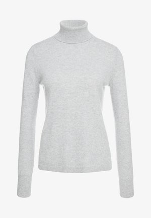 LAYLA TURTLENECK - Jumper - heather grey