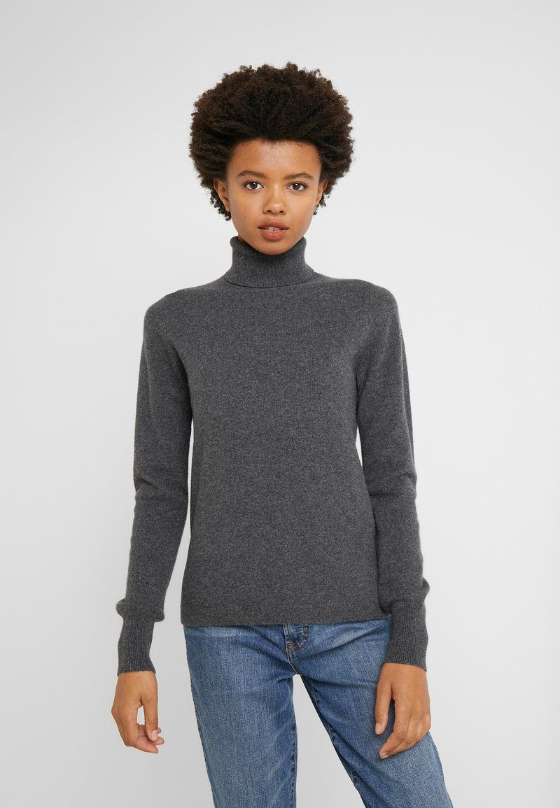 J.CREW - LAYLA TURTLENECK - Jumper - heather coal grey