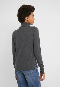 J.CREW - LAYLA TURTLENECK - Jumper - heather coal grey - 2