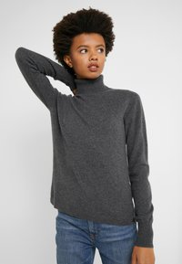 J.CREW - LAYLA TURTLENECK - Jumper - heather coal grey - 3