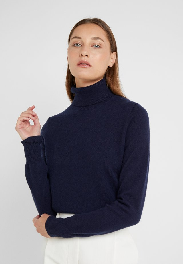 LAYLA TURTLENECK - Neule - navy