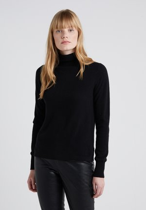 LAYLA TURTLENECK - Strickpullover - black