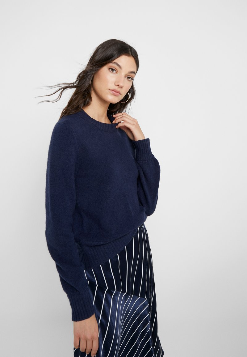 J.CREW - SUPERSOFT CREW OUT EXCLUSIVE - Neule - navy