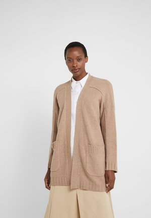 SUPERSOFT OPEN - Strikjakke /Cardigans - mushroom