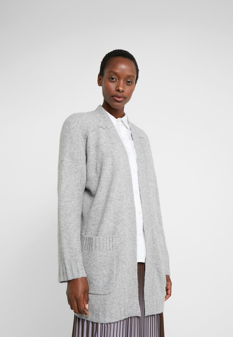 J.CREW - SUPERSOFT OPEN - Cardigan - grey