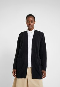 J.CREW - SUPERSOFT OPEN - Gilet - black - 0