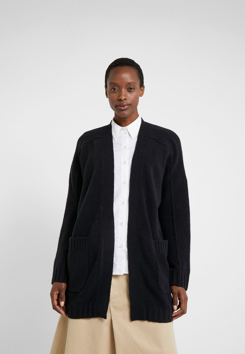 J.CREW - SUPERSOFT OPEN - Gilet - black