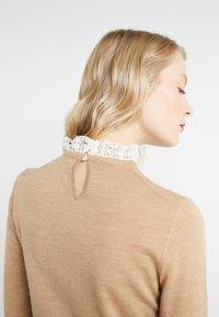 J.CREW - Pullover - heather camel ivory - 3
