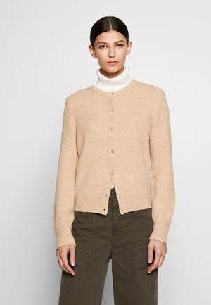 CREW BLING - Strickjacke - camel