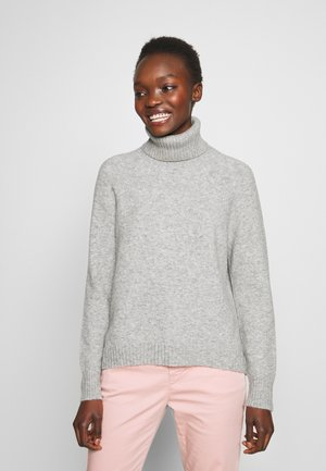 SUPERSOFT TURTLENECK - Sweter - grey