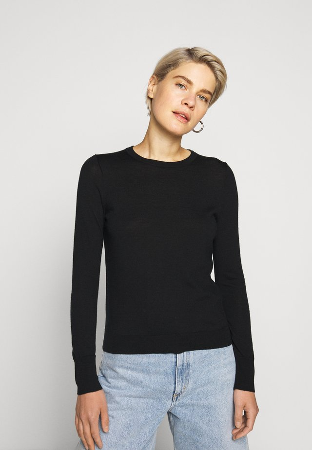 MARGOT CREWNECK - Pullover - black