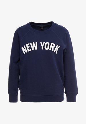 NEW YORK - Sudadera - navy