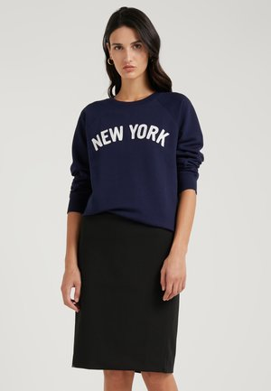 NEW YORK - Sweatshirt - navy