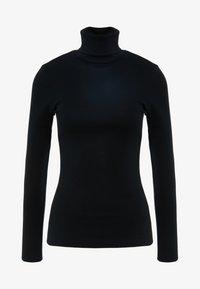 J.CREW - PERFECT FIT TURTLENECK - T-shirt à manches longues - black - 3