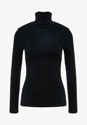 PERFECT FIT TURTLENECK - Bluzka z długim rękawem - black