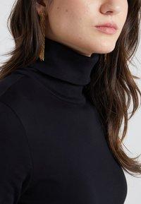 J.CREW - PERFECT FIT TURTLENECK - T-shirt à manches longues - black - 4