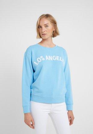 LOS ANGELES - Sweatshirt - cornflower blue