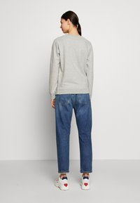 J.CREW - NYC CHENILLE EMBROIDERED - Sweatshirt - grey - 2