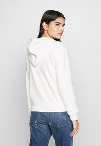 J.CREW - LINED HOODIE - Zip-up hoodie - ivory - 2