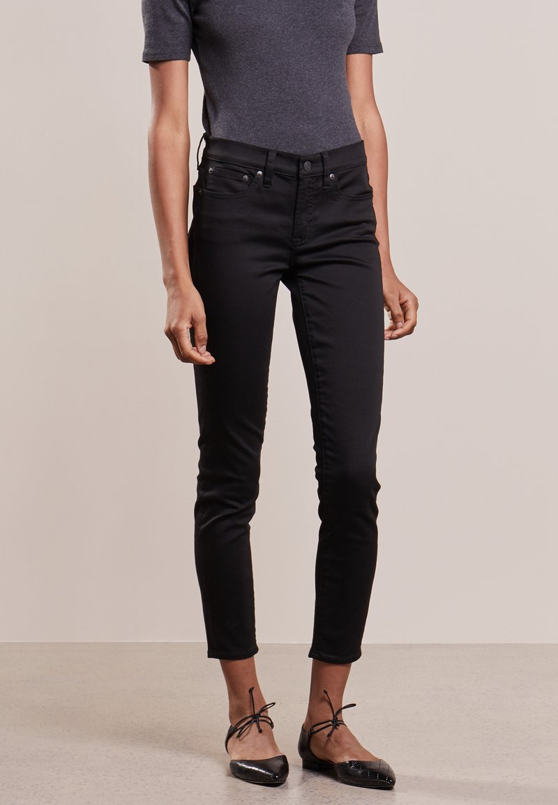 J.CREW - TOOTHPICK - Straight leg jeans - true black