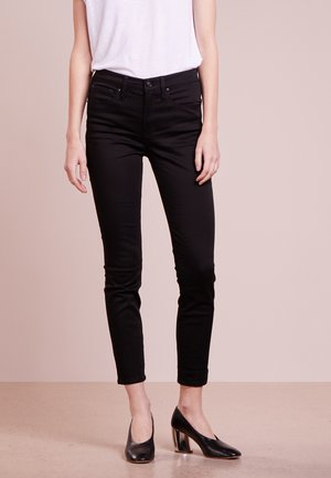 LOOKOUT HIGH RISE NEW BLACK - Jeansy Slim Fit - true black
