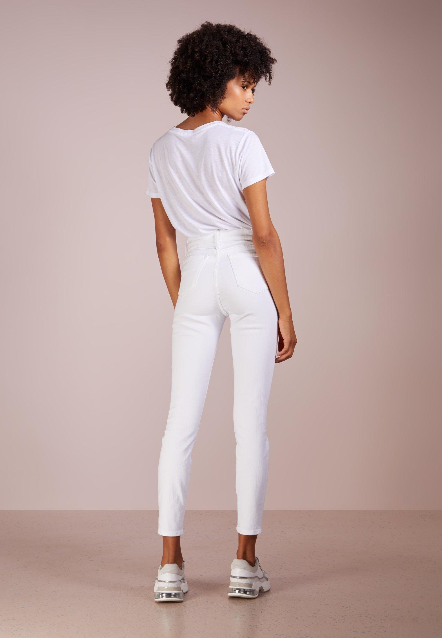 J.CREW Jeansy Slim Fit - white