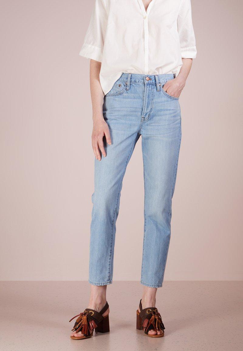 J.CREW - RETRO  - Jeans Straight Leg - fern wash