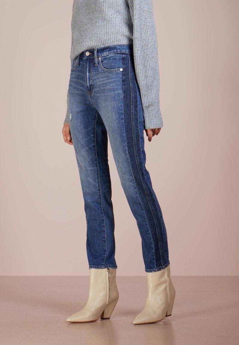 J.CREW - VINTAGE TWO TONE - Jeans Straight Leg - tonal light indigo